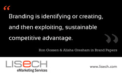 Lisech eMarketing graphic exploiting competitive advantage