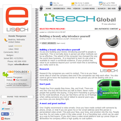 picture of lisechglobal press release