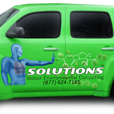 Logo on solutionsIEC vehicle